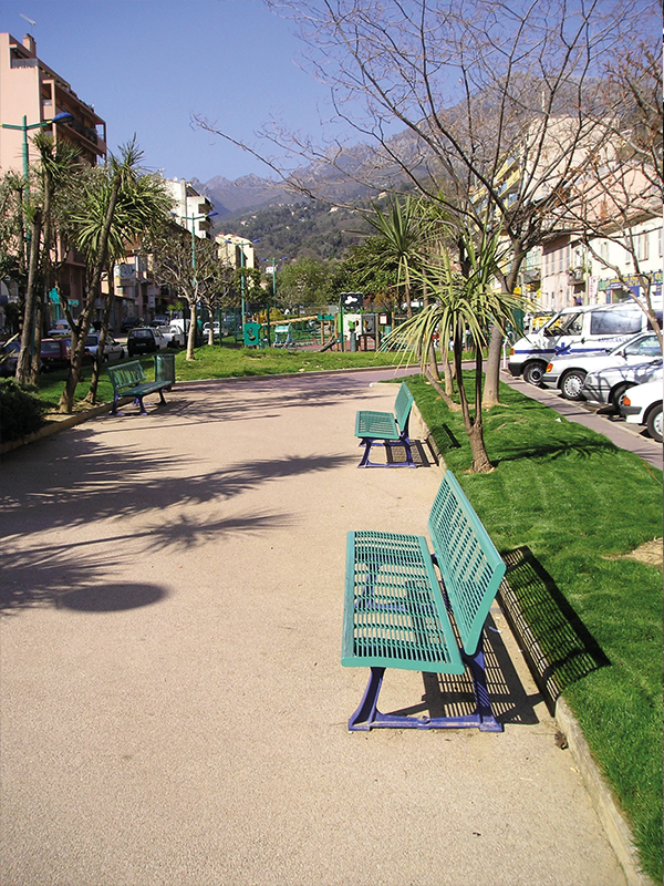 Confort 2 - Banc 3 places Saint-Denis - 13 0004 - Menton