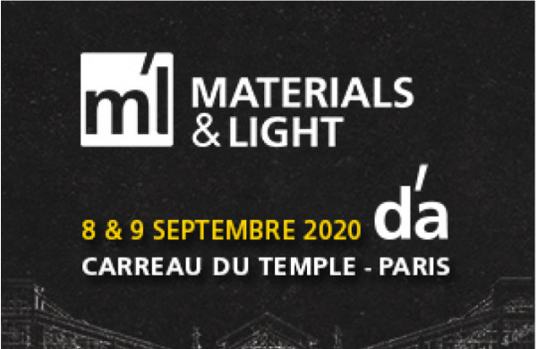 The Materials & Light exjibtion returns on 8 and 9 September!