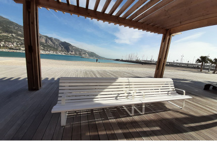 Azur seats  in Menton (France)
